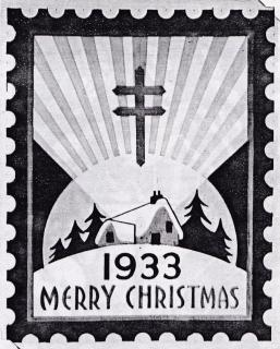 1933 Christmas Seal Original Art - Essay