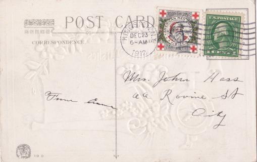 1912 Tied On