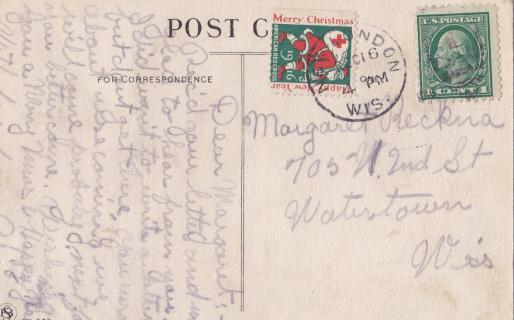 1916 Tied On