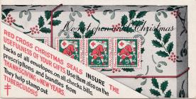 1916 Christmas Seal Ink Blotter
