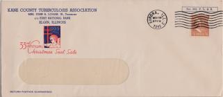 1939 Christmas Seal Envelope