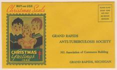 1940 Christmas Seal Envelope