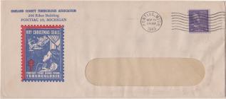 1943 Christmas Seal Envelope