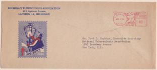 1946 Christmas Seal Envelope