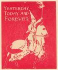 KKK label, terror knight on horse back