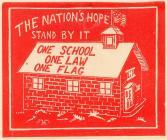 KKK School House label #3