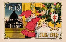Early Swedish TB Postcard