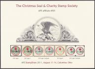 2011 Christmas Seal & Charity Stamp Society Souvenir Card