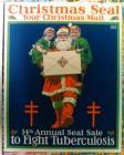 1921 Christmas Seal Poster
