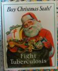 1928 Christmas Seal Poster