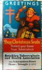 1937 Christmas Seal Poster