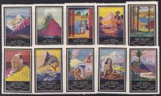 Poster Stamps for tourism, New Zealand
