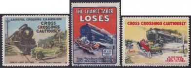 Poster Stamp - Train Safety