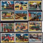 Poster Stamps, Studebaker Auto set of 12