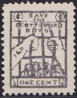 1932 International Labor Defense Scottsboro Boys Fundraising Seal