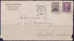 1932 International Labor Defense Scottsboro Boys Fundraising Seal Tied on Cover