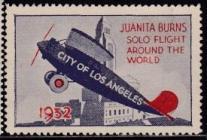 Juanita Burns Solo Flight