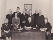 December 25th 1940 Special staff meeting of the National Tuberculosis Association Merry Christmas to all Sate and Local TB Associations.